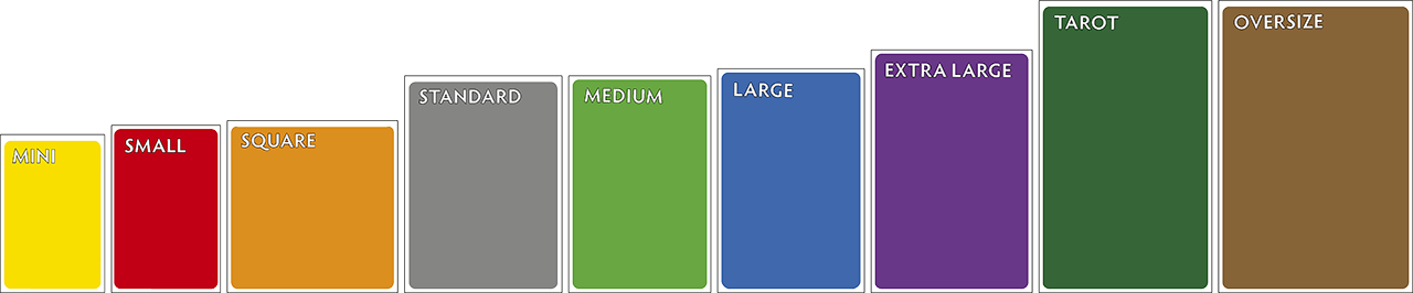 Board Game Sleeves Sizes